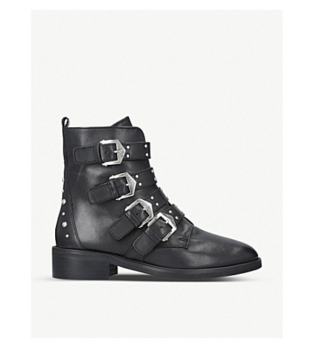 CARVELA Scant leather ankle boots (Black