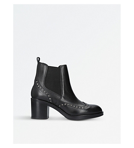 CARVELA Stop leather ankle boots (Black