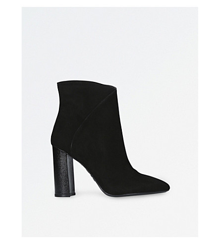 NINE WEST Argyle heeled ankle boots (Black