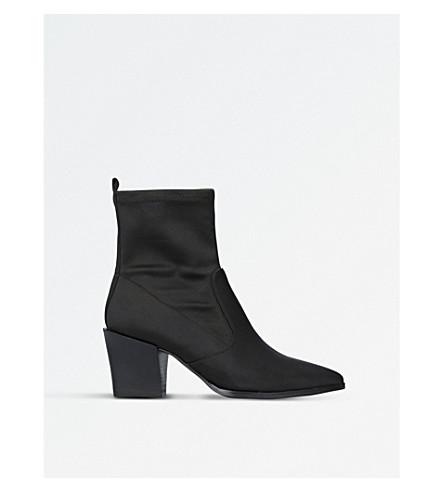 NINE WEST Eshella fabric ankle boots (Black