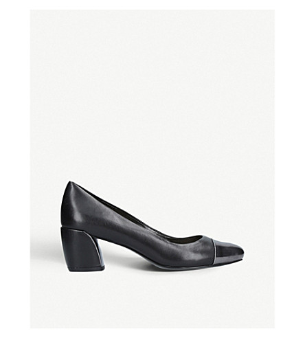 NINE WEST Jineya leather courts (Blk/other