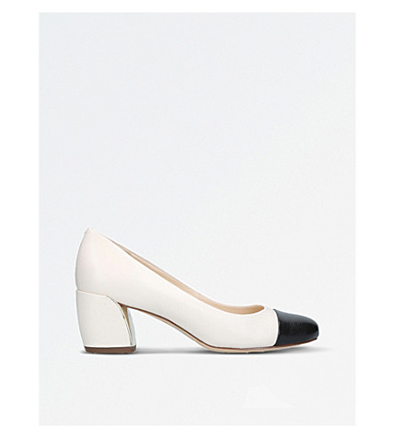NINE WEST Jineya leather courts (White/oth