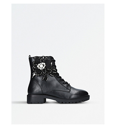 MISS KG Seren military boots (Black