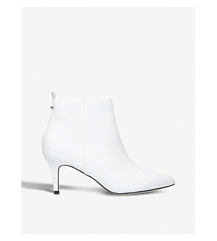 MISS KG Tiana heeled ankle boots (White