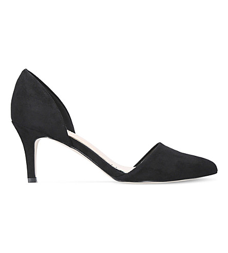 MISS KG Celina faux-suede courts (Black