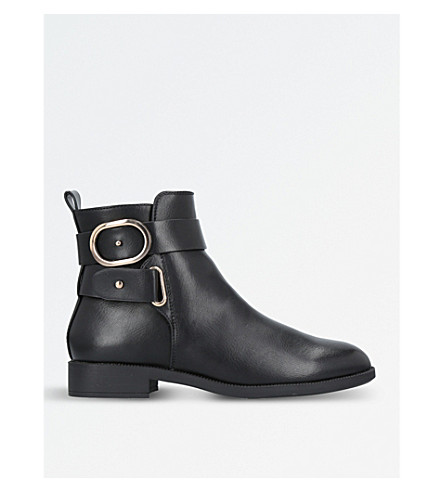 MISS KG Trinny buckle-detail ankle boots (Black