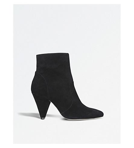 KG KURT GEIGER Skylife suede boots (Black