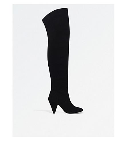 KG KURT GEIGER Violet over-the-knee boots (Black