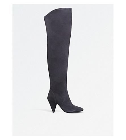KG KURT GEIGER Violet over-the-knee boots (Grey