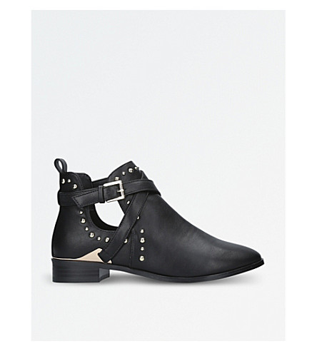 MISS KG Seb cutout ankle boots (Black