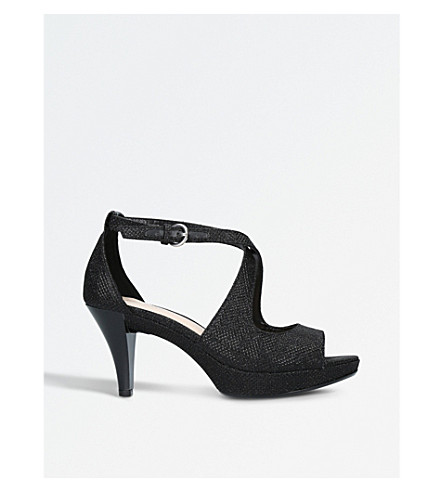NINE WEST Jubilee heeled sandals (Black