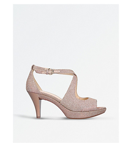 NINE WEST Jubilee heeled sandals (Pewter