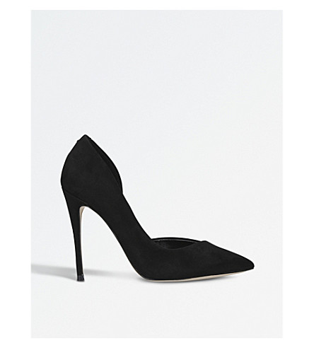KG KURT GEIGER Alexandra court shoes (Black