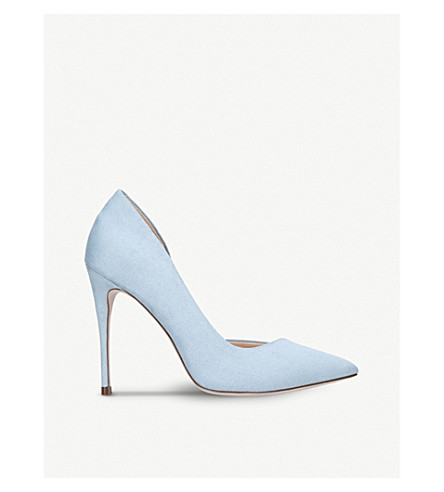 MISS KG Alexandra court shoes (Pale+blue