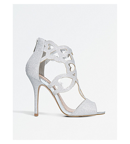 MISS KG Florence glitter sandals (Silver