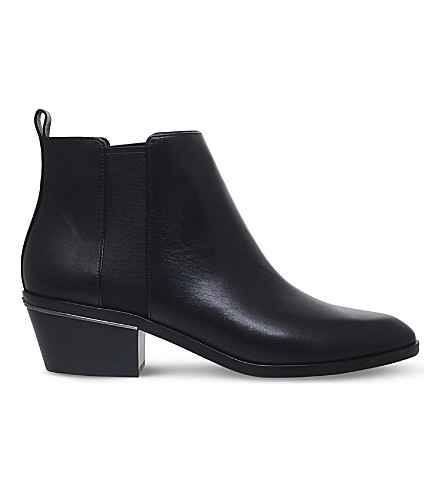 MICHAEL MICHAEL KORS Crosby leather Chelsea boots (Black