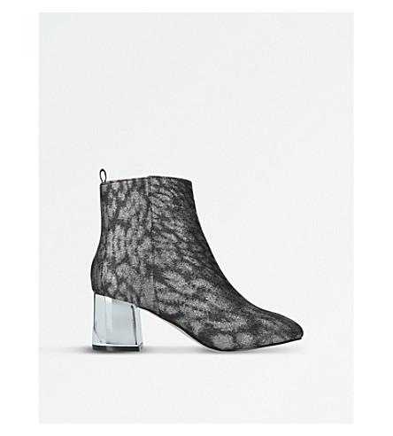MISS KG Tilly Gunmetal Ankle Boots (Gunmetal