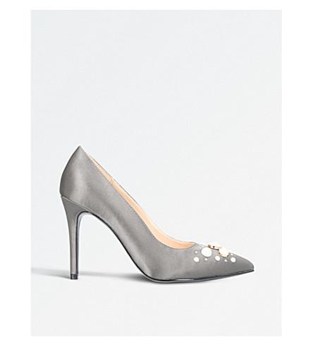 NINE WEST Naldi heeled court shoes (Grey
