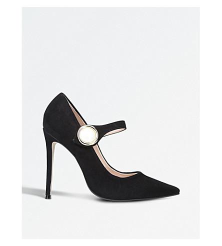 CARVELA 氩绒面革宫廷鞋 (黑色