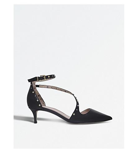 CARVELA Aspire leather sandals (Black