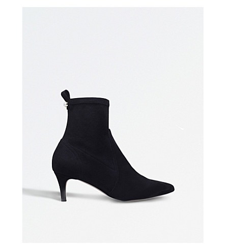 CARVELA Scilly suedette ankle boots (Black