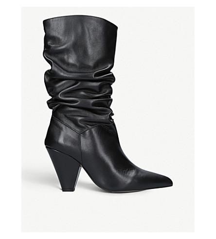 CARVELA 揉皮靴子 (黑色