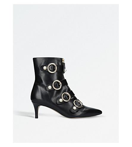CARVELA Sparky leather ankle boots (Black
