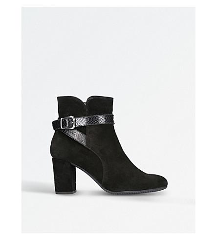 CARVELA COMFORT Rocky faux-suede ankle boots (Black