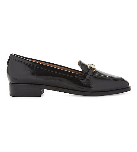 NINE WEST Holly patent leather loafers (Black