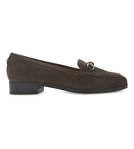 NINE WEST Holly suede loafers (Grey