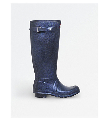 HUNTER Original starcloud wellington boots (Navy