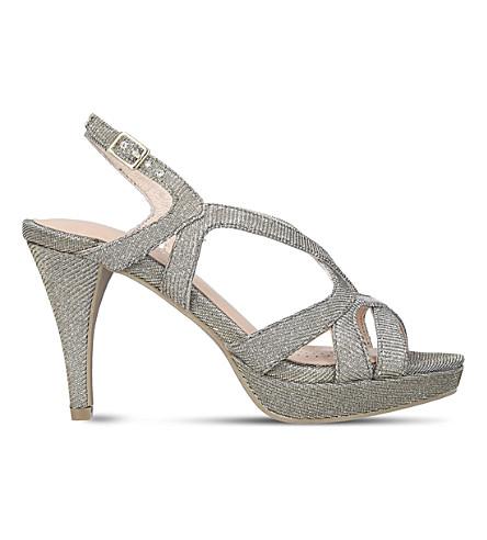 CARVELA Asha metallic heels (Metal+comb