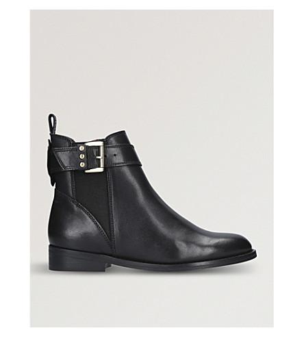KG KURT GEIGER Rusty leather Chelsea Boots (Black