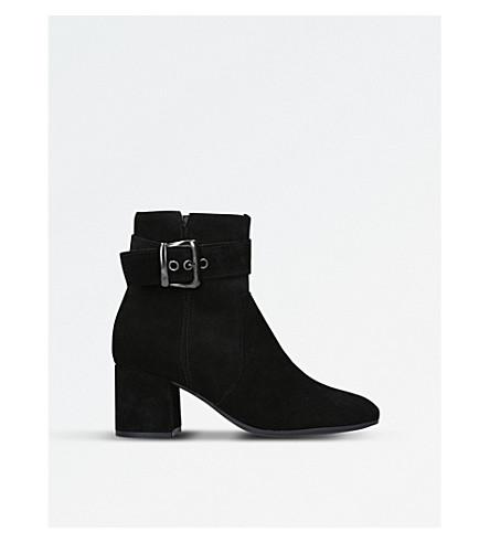 CARVELA COMFORT Rachel suede ankle boots (Black