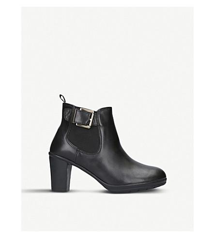 CARVELA COMFORT Rain leather ankle boots (Black