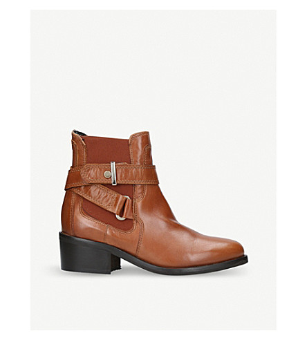 CARVELA 马镫皮革踝靴 (谭