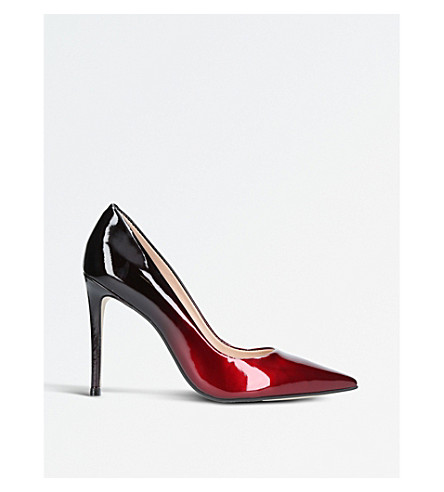 CARVELA Ali ombré pattern heeled courts (Wine
