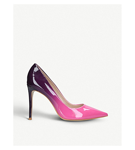 CARVELA Alice 2 patent two-tone courts Purple Free Shipping Countdown Package Unisex Wide Range Of Cheap Price 7CAq6