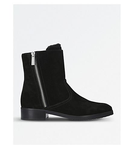 MICHAEL MICHAEL KORS Andi suede boots (Black