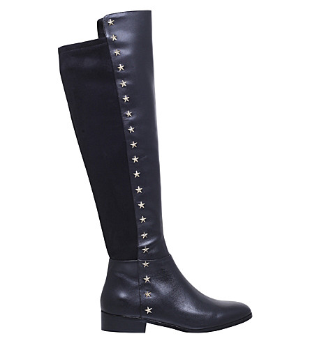 MICHAEL MICHAEL KORS Bromley knee-high leather boots (Black