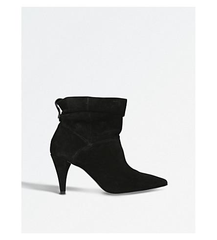 MICHAEL MICHAEL KORS Carey suede ankle boots (Black