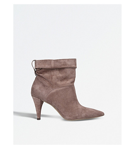 MICHAEL MICHAEL KORS Carey suede ankle boots (Taupe