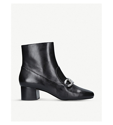 MICHAEL MICHAEL KORS Vanessa leather ankle boots (Black