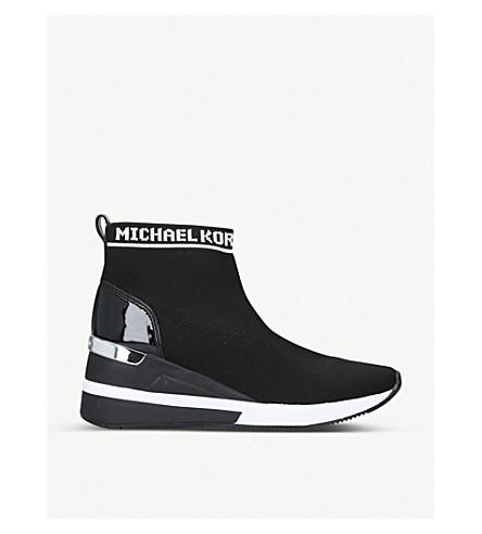 MICHAEL MICHAEL KORS Skyler pull-on woven booties (Black