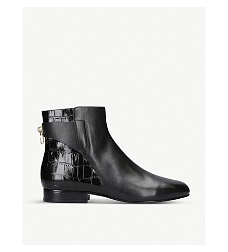 MICHAEL MICHAEL KORS Mira leather ankle boots (Black