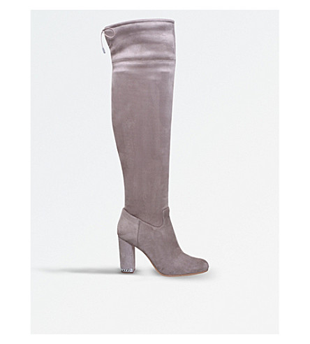 MICHAEL MICHAEL KORS Jamie over-the-knee suede boots (Taupe