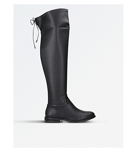 MICHAEL MICHAEL KORS Jamie over-the-knee leather boots (Black