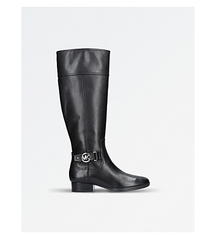MICHAEL MICHAEL KORS Harland leather boots (Black