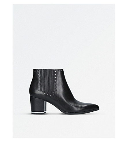 MICHAEL MICHAEL KORS Gemma studded leather ankle boots (Black