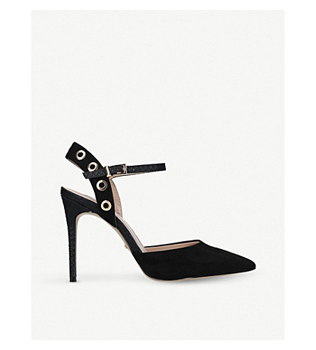 CARVELA Aron suedette courts (Black